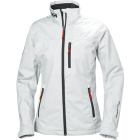 Helly Hansen Crew Midlayer Jacket Women, white